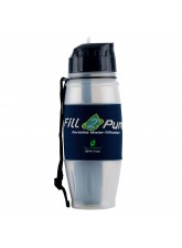 800ml Outdoor ADVANCED Filter Bottle: Great for your Survival Kit!
