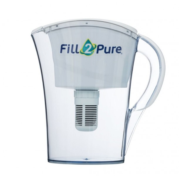 Mini pH ALKALINE Water Filter Jug (750mls): No need to buy Bottled Water